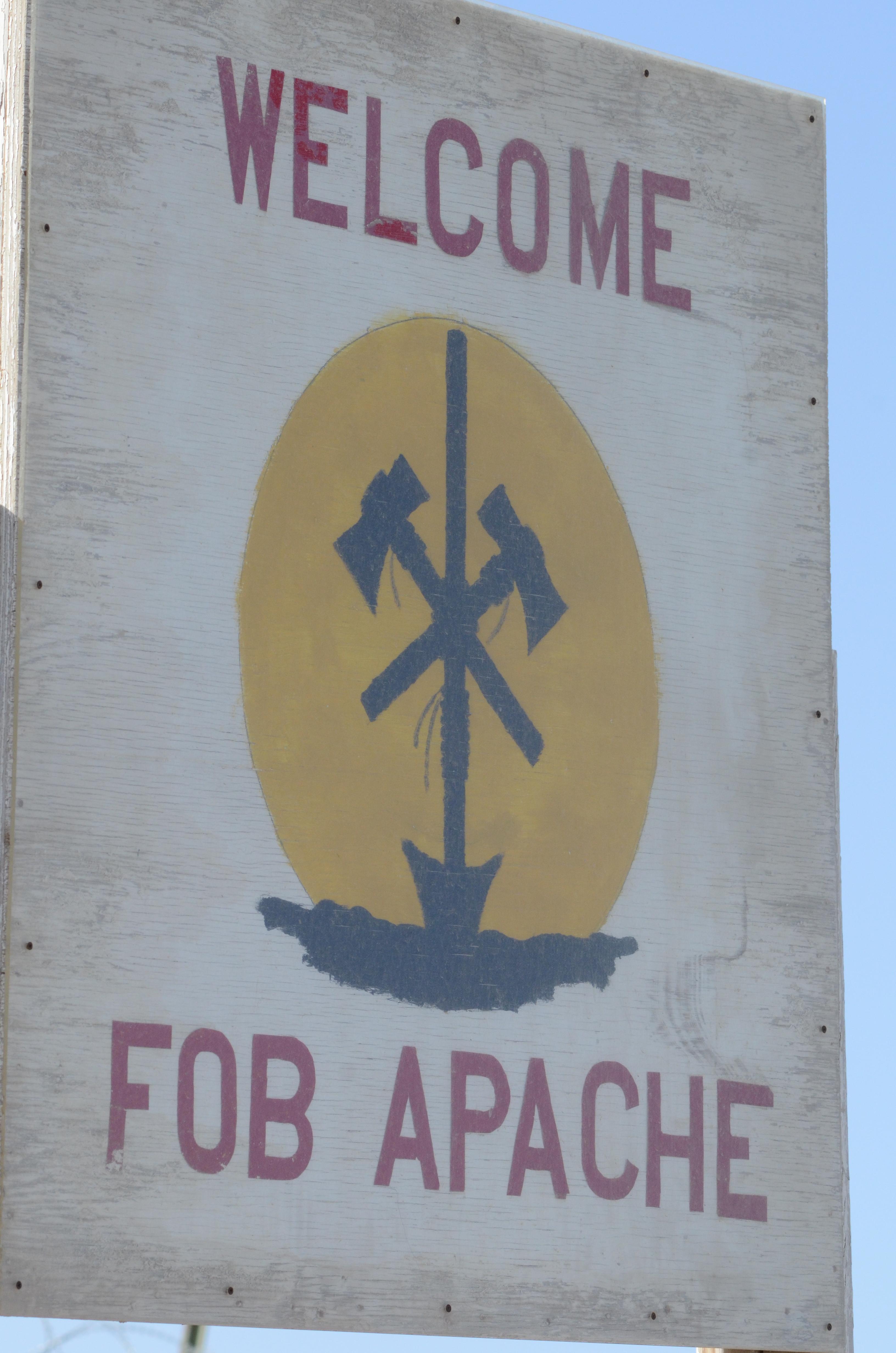 Fob Apache At 135mm Lookin Thru My Eyes