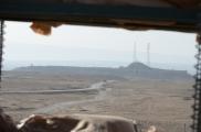The Castle as viewed through a firing point