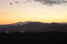Sunrise over the mountains near Qalat 7 Nov 11