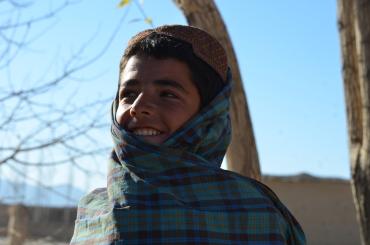 Lots of smiles in Haji Sultan