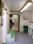 We have 2 of the 3-trailer latrines. This is the other one's sinks