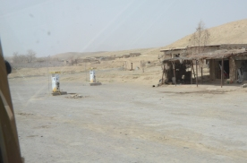 Zabul truck stop. A little more spartan than those in Kandahar