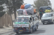 In Afghanistan no load is too large, no vehicle is too small