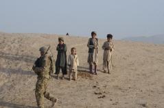 On a patrol in Mizan