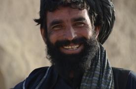 Another happy Afghan in Taj Murani