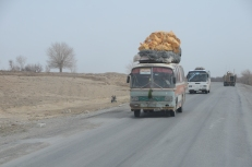 Buses can haul a lot of stuff too