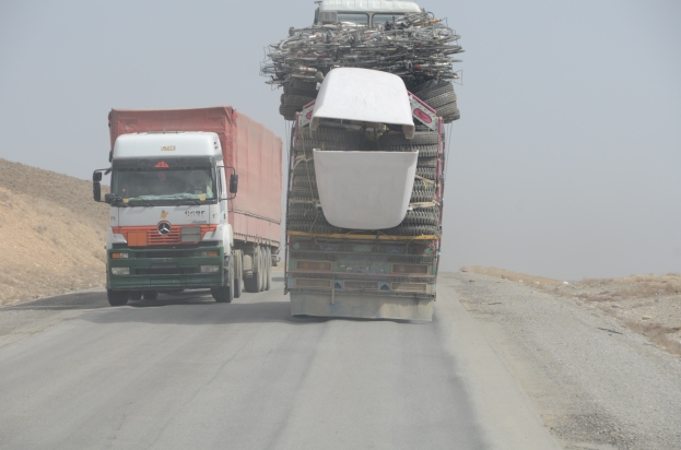 There is always room for more on an Afghan truck