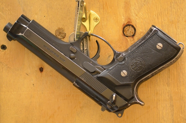 last resort for a gunfight...