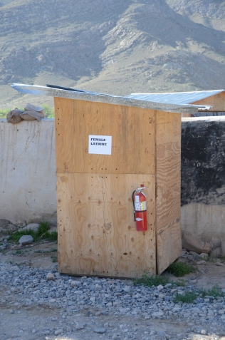 The female latrine