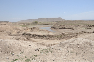 Another view of the Tarnak river near Qalat