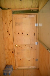We built 3 doors - this one is for the SECFOR room