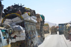 rugs, tires and office furniture all on a single load.
