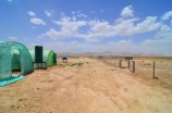 a view from the demonstration farm in Shah Joy