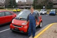 Dad was proud of 'Joe' his Smart car.