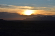 FOB Apache sunset