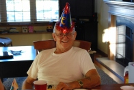 We had a little family party to celebrate Dad's 75th birthday. It turned out to be the last one he had.