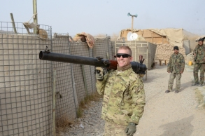 Me with the ANA'a Recoilless Rifle