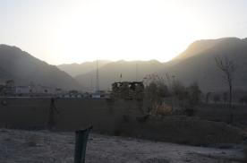 Early morning in the mountains of Mizan