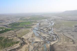 The Tarnak river through Qalat