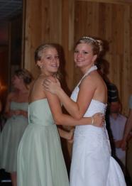 Kaylin & Steph - sisters dancing