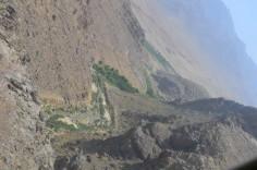 valley between Apache & Mizan