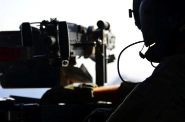 CH-47 door gunner