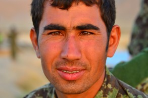 One of the many ANA Soldiers that lined up to have me take his picture