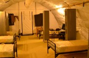 My 'room' at FOB Al Masaak