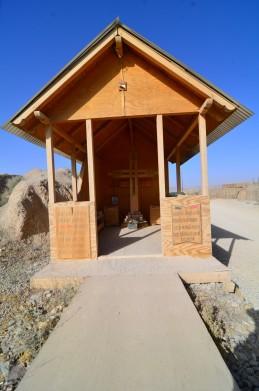A little Romanian memorial chapel on Al Masaak