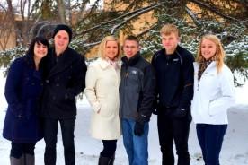 Stacy, Justin, Steph, Jake, Zach & Kaylin