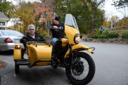 John selling a Ural to Matt